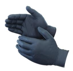 Industrial Grade Black Nitrile Gloves